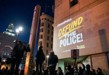 Defund the Police sign