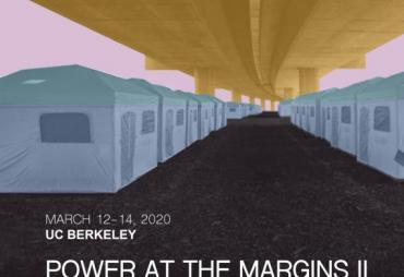 conference image -- tents under freeway overpass